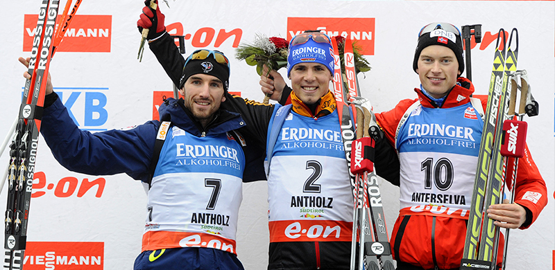 [ANTERSELVA] Poursuite : Jean-Guillaume Béatrix arrache le premier podium de sa carrière !