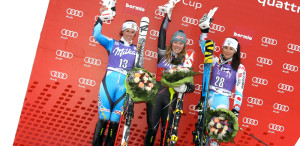 [BORMIO] Nastasia Noens retrouve le podium - Photo : © AGENCE ZOOM