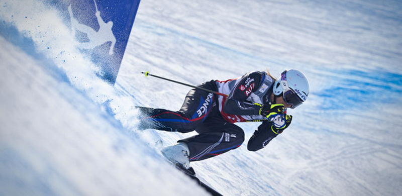 [SOCHI 2014] Ski Cross : Ophélie David au pied du podium