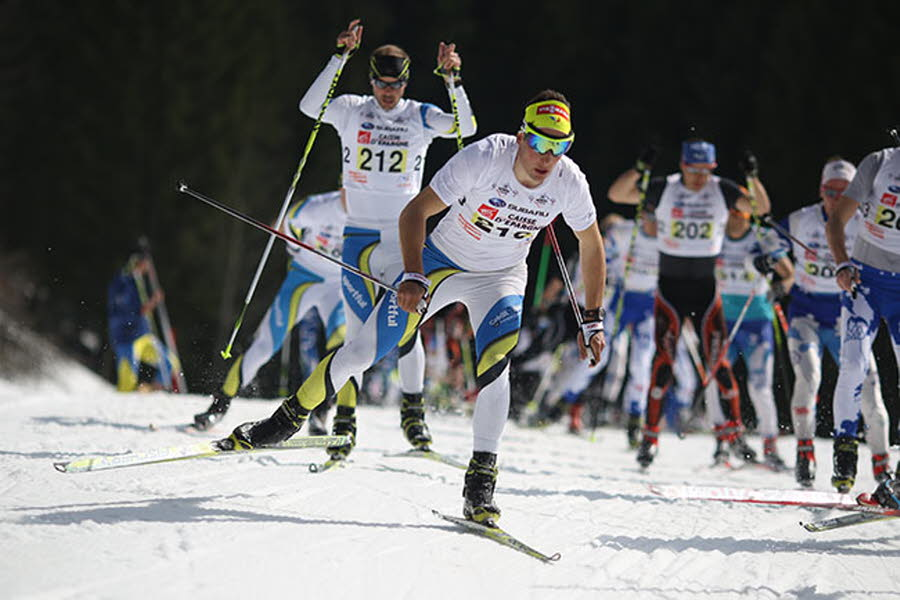 [CHAMPIONNATS DE FRANCE] Adrien Backscheider s'impose sur la mass start - photo : Nils louna