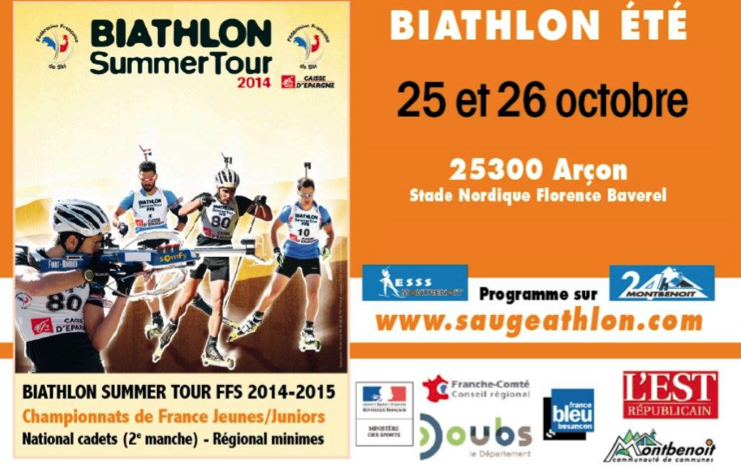 Biathlon Summer Tour - Arçon