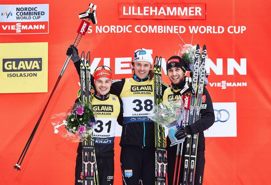 FIS world cup nordic combined, individual gundersen HS138/10km, Lillehammer (NOR)