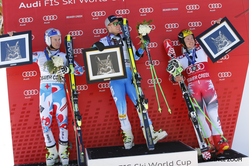 PINTURAULT Alexis,LIGETY Ted,HIRSCHER Marcel - Nathan Bilow/Agence Zoom