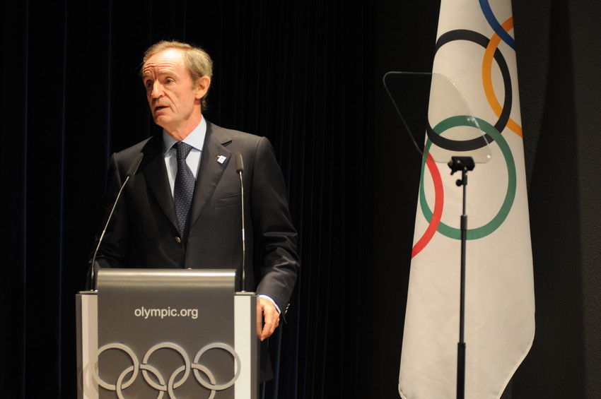 Jean-Claude Killy à Lausanne - Agence Zoom