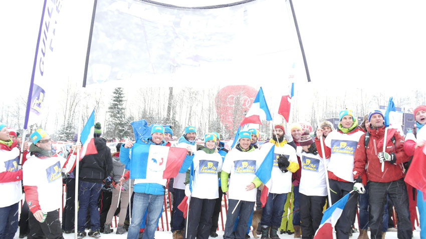 Le Fan Club de Guillermo Fayed en Autriche pour supporter le Chamoniard