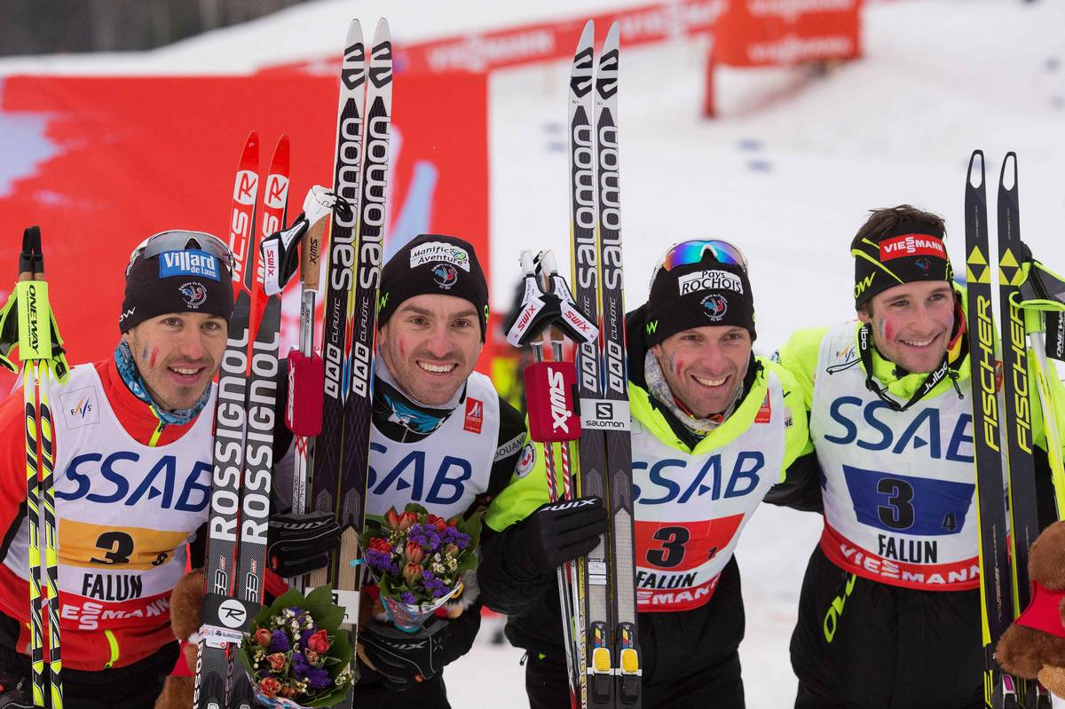 FIS nordic world ski championships, cross-country, 4x10km men, Falun (SWE)