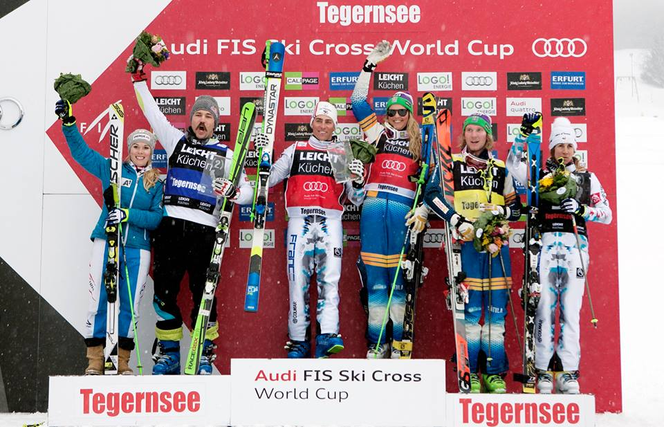 Podium - FIS Freestyle Skiing