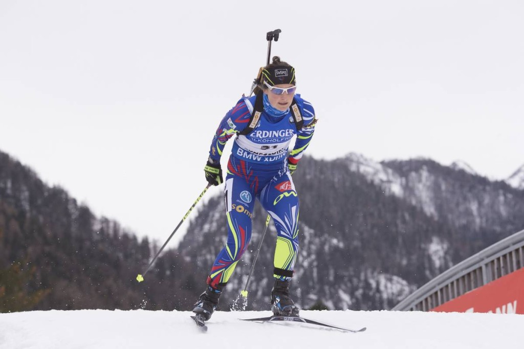 08.01.2016, Ruhpolding, Germany (GER): Justine Braisaz (FRA) -  IBU world cup biathlon, sprint women, Ruhpolding replacing Oberhof (GER). www.nordicfocus.com. © Manzoni/NordicFocus. Every downloaded picture is fee-liable.