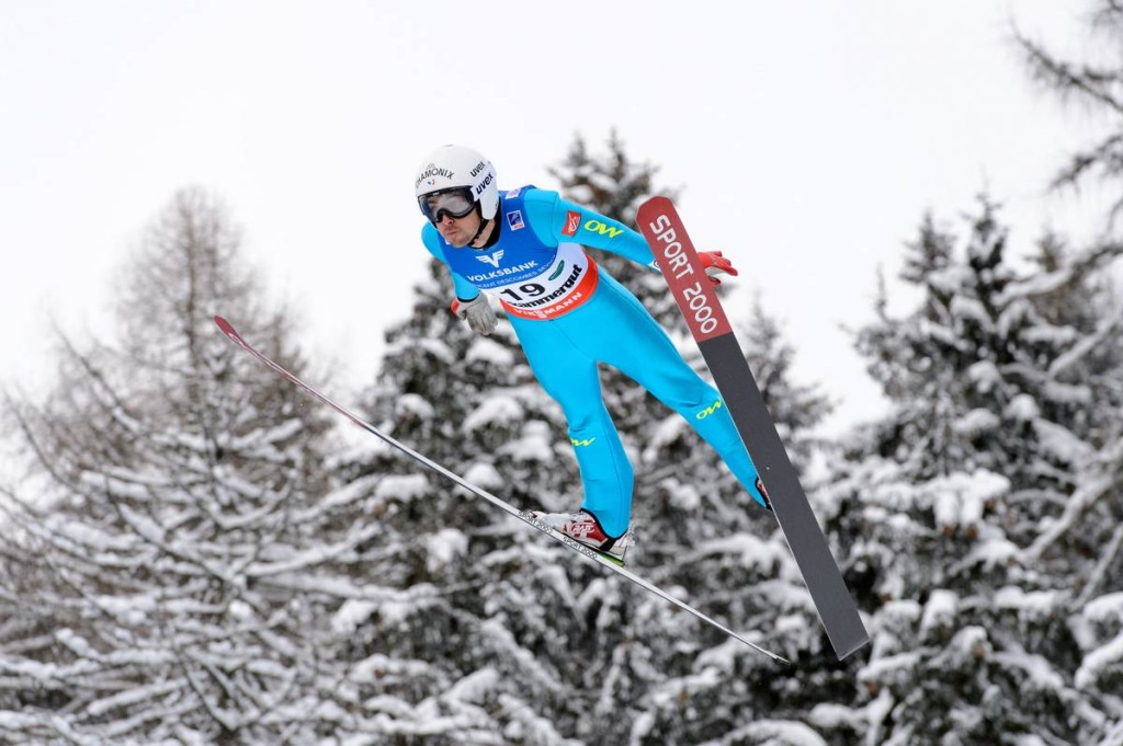 16.01.2016, Tauplitz/Bad Mitterndorf, Austria (AUT): Vincent Descombes Sevoie  (FRA) - FIS ski flying world championships, individual HS225, Tauplitz/Bad Mitterndorf (AUT). www.nordicfocus.com. © Rauschendorfer/NordicFocus. Every downloaded picture is fee-liable.