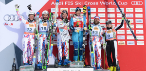 Ski Cross à Watles