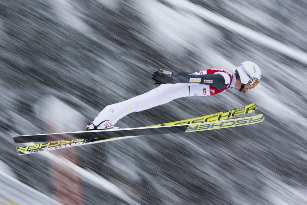 31.01.2016, Seefeld, Austria (AUT): Francois Braud (FRA) - FIS world cup nordic combined, individual gundersen HS109/15km, Seefeld (AUT). www.nordicfocus.com. © Modica/NordicFocus. Every downloaded picture is fee-liable.
