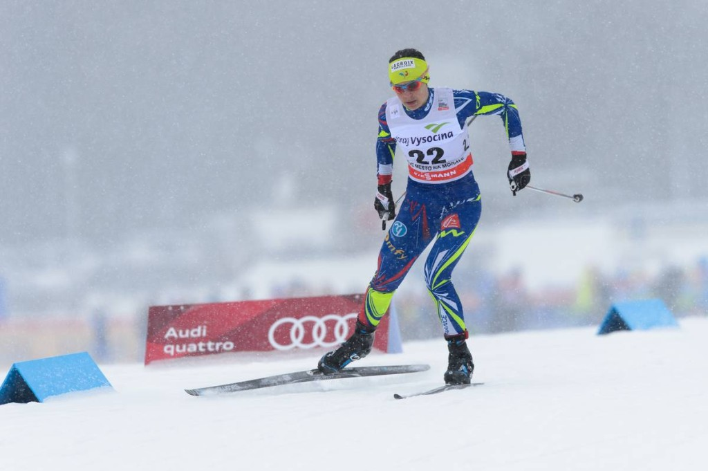 FIS world cup cross-country, 10km women, Nove Mesto (CZE)
