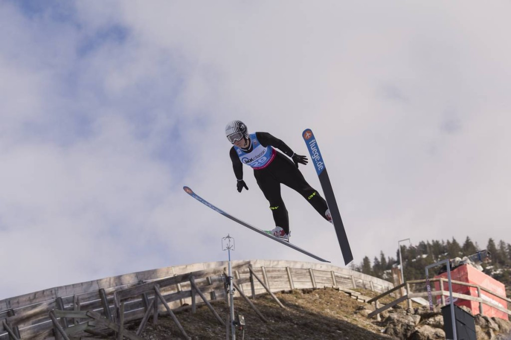 FIS world cup ski jumping ladies, training, Oberstdorf (GER)