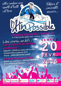 Affiche l'Ain Possible | Février 2016