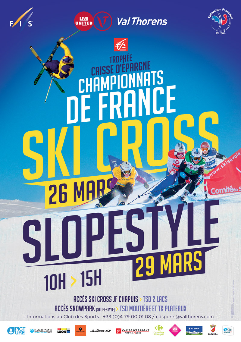 Affiche_SkiCross_Champ-France-ValTho2016