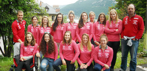 Equipe de France Jeune-Junior dames de Ski Alpin | saison 2016/2017