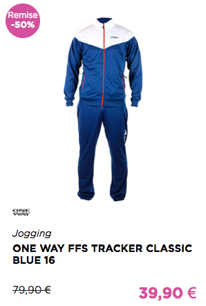 ONE WAY FFS TRACKER CLASSIC BLUE