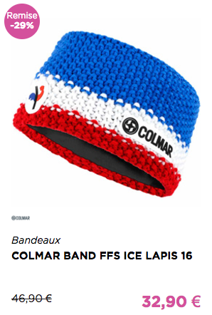COLMAR BAND FFS ICE LAPIS