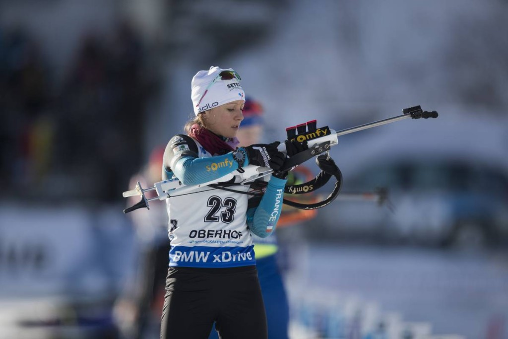 IBU world cup biathlon, sprint women, Oberhof (GER)