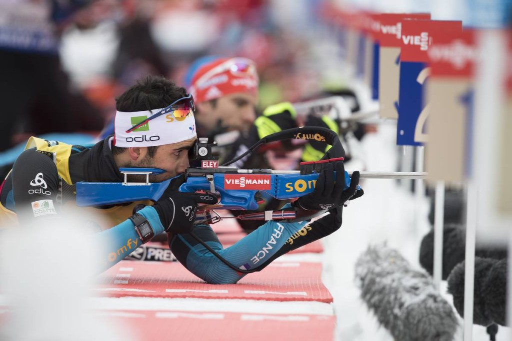 IBU world cup biathlon, sprint men, Ruhpolding (GER)