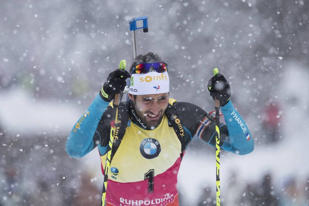 IBU world cup biathlon, pursuit men, Ruhpolding (GER)