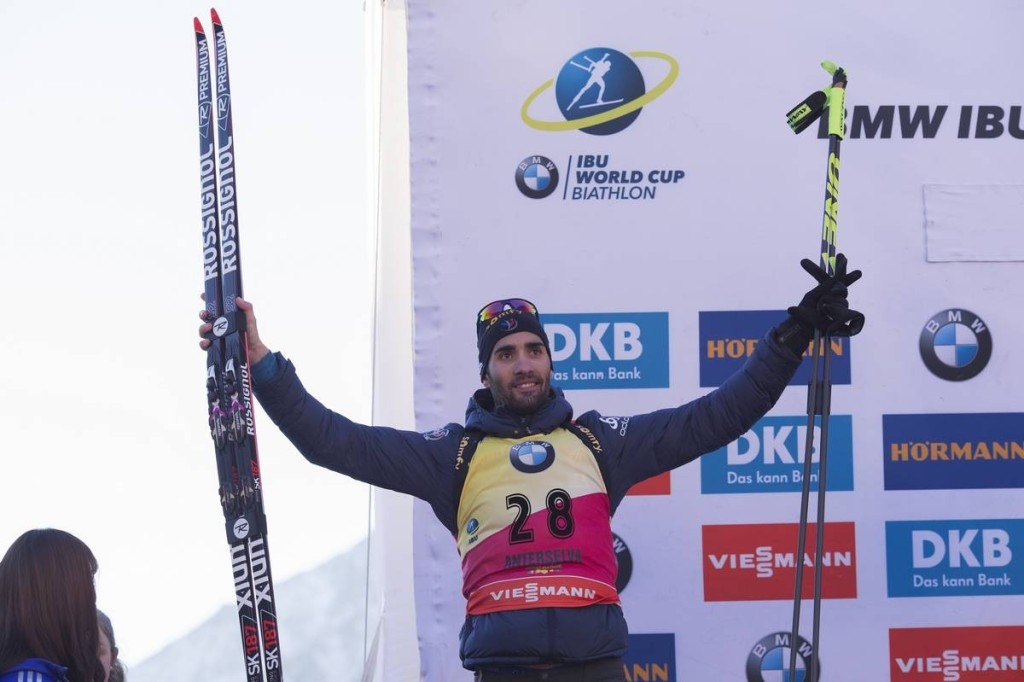 20.01.2017, Antholz, Italy (ITA): Martin Fourcade (FRA) -  IBU world cup biathlon, individual men, Antholz (ITA). www.nordicfocus.com. © Manzoni/NordicFocus. Every downloaded picture is fee-liable.