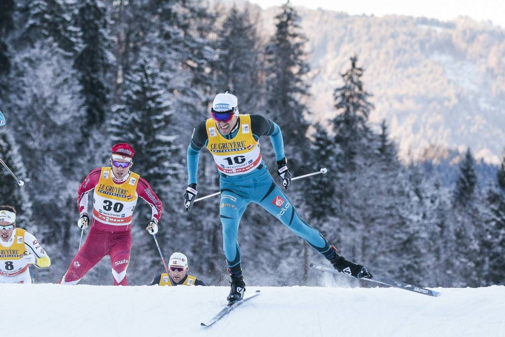 03.01.2017, Oberstdorf, Germany (GER): Maurice Manificat (FRA) - FIS world cup cross-country, tour de ski, skiathlon men, Oberstdorf (GER). www.nordicfocus.com. © Modica/NordicFocus. Every downloaded picture is fee-liable.