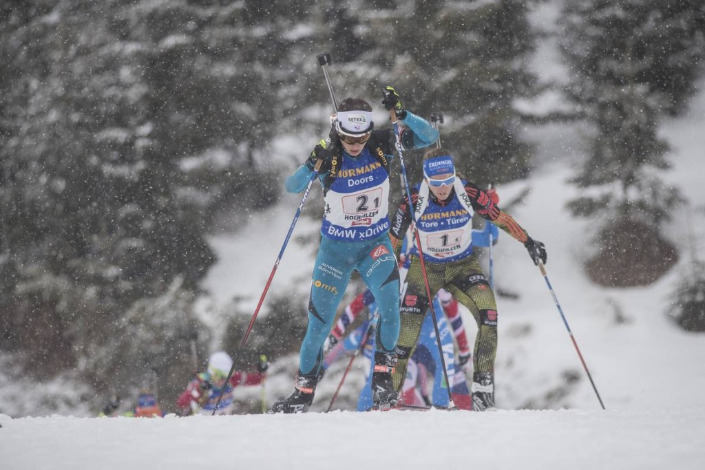 IBU world championships biathlon, relay women, Hochfilzen (AUT)