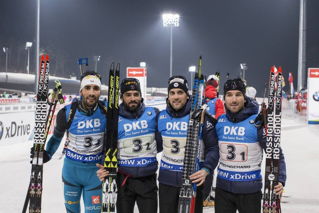 IBU world cup biathlon, relay men, Pyeong Chang (KOR)