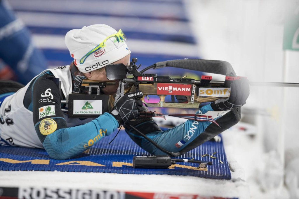 IBU world cup biathlon, sprint women, Pyeong Chang (KOR)