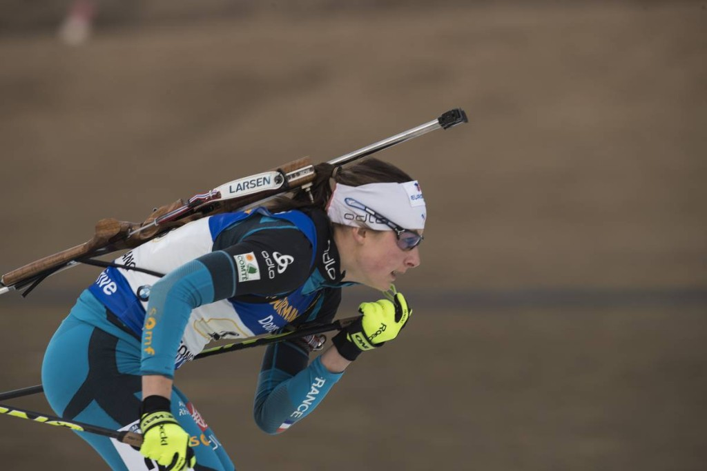IBU world cup biathlon, relay women, Pyeong Chang (KOR)