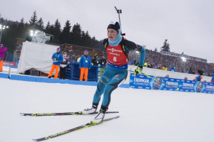 IBU world cup biathlon, mass women, Nove Mesto (CZE)