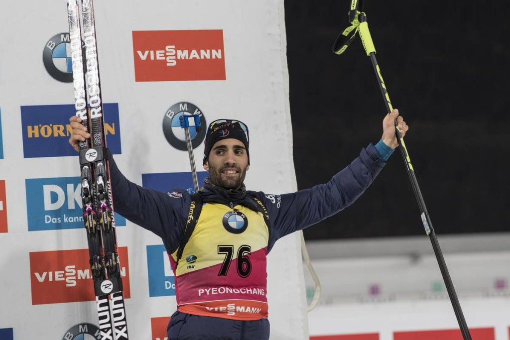 IBU world cup biathlon, sprint men, Pyeong Chang (KOR)