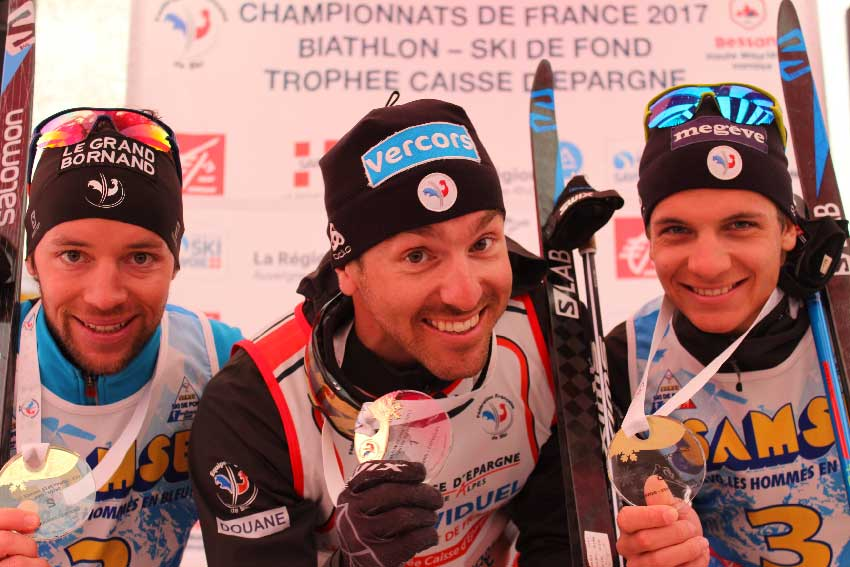 podiums hommes