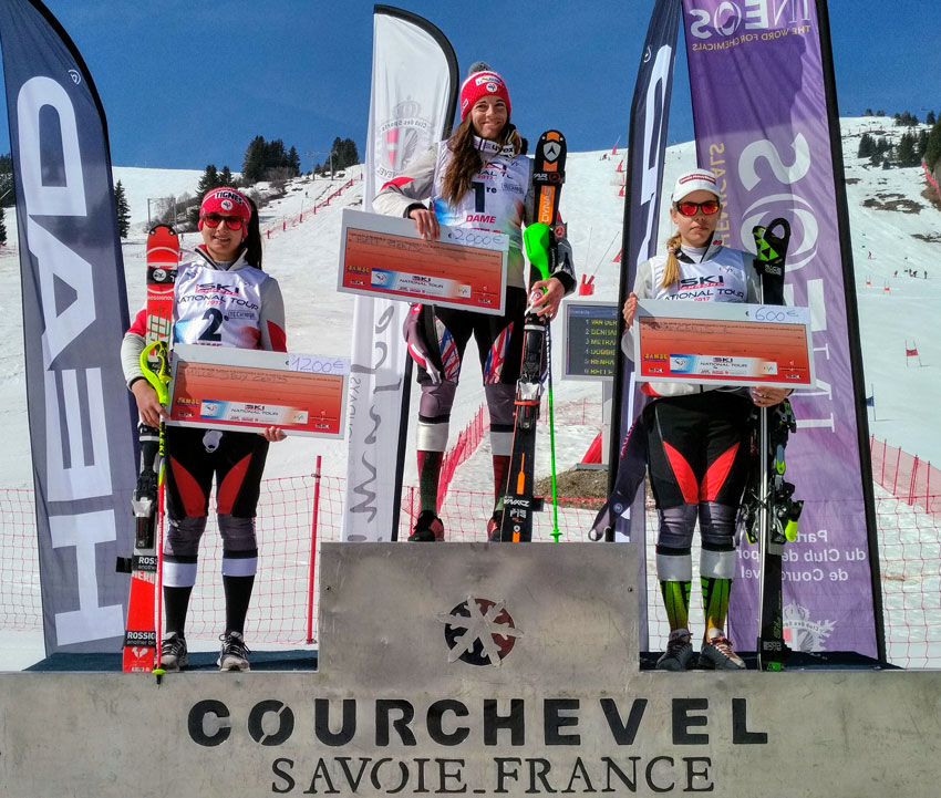 Podium Technique Dames