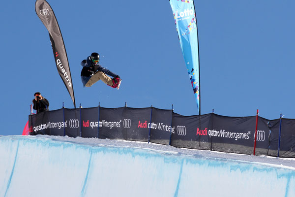 Halfpipe World Cup Qualifiers Cardrona - Mirabelle Thovex (FRA) © FIS/Oliver Kraus