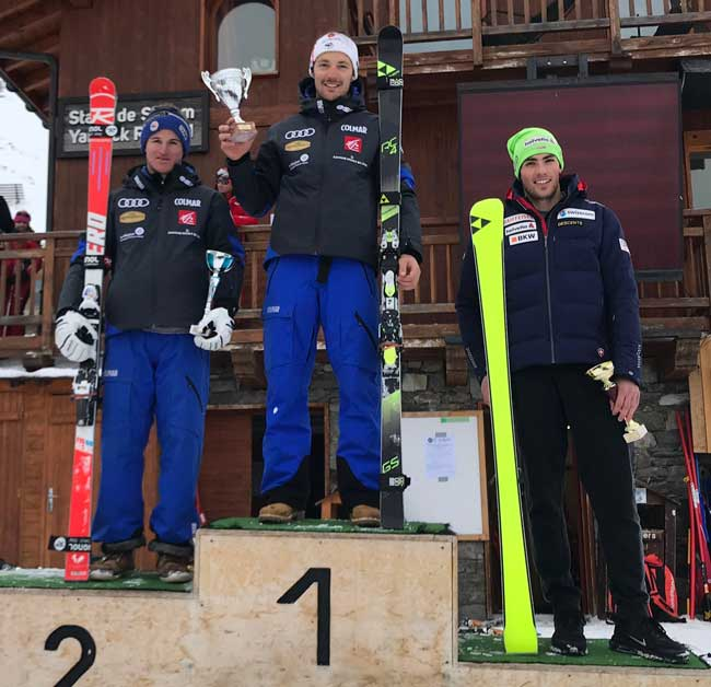podium GS2 val thorens