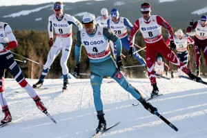 FIS world cup cross-country, skiathlon men, Lillehammer (NOR)