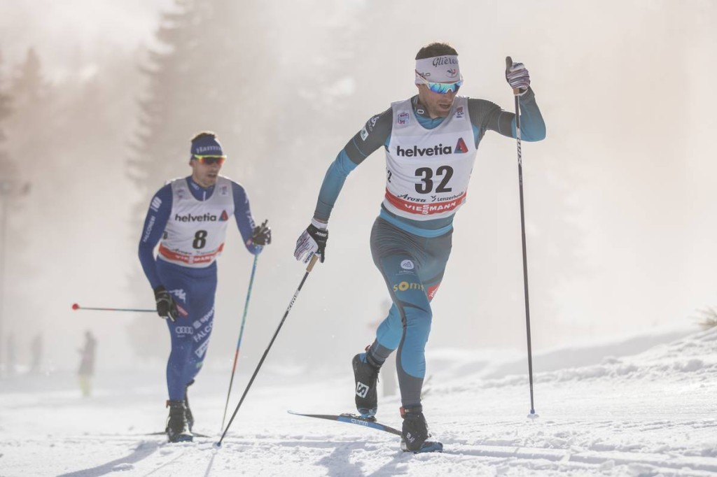FIS world cup cross-country, tour de ski, 15km men, Lenzerheide (SUI)