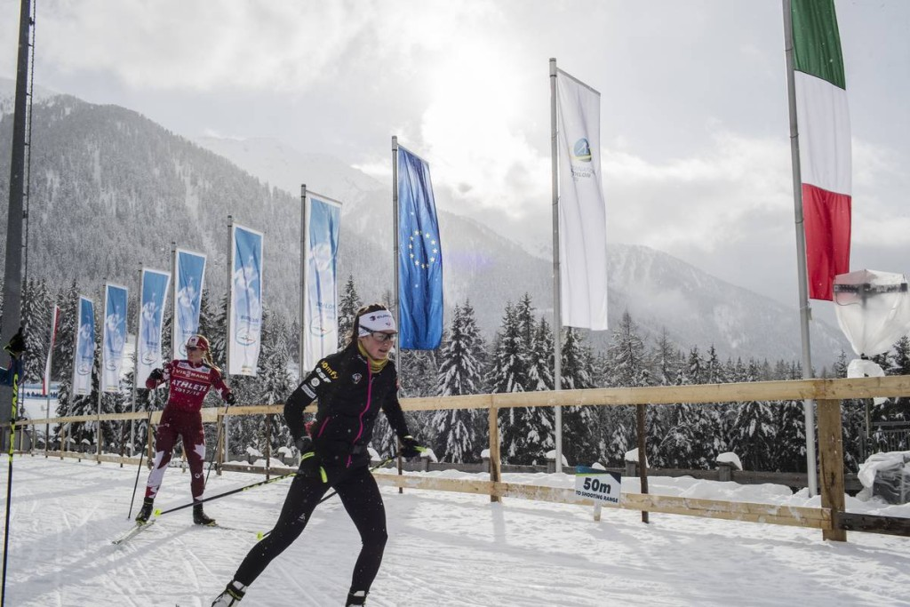 IBU world cup biathlon, training, Antholz (ITA)