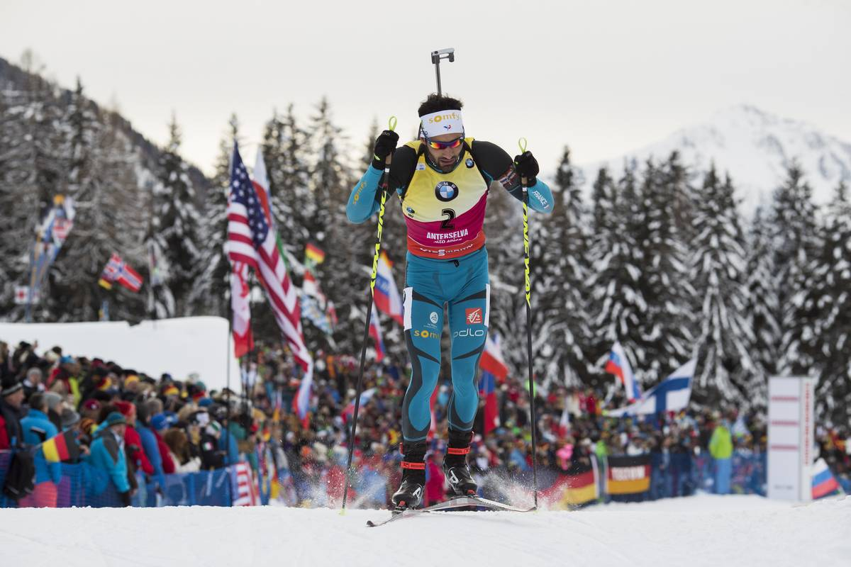 Coupe du monde de biathlon antholz martin fourcade 2e - Classement coupe du monde de biathlon ...