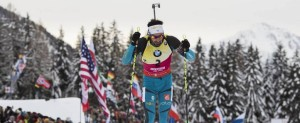 20.01.2018, Antholz, Italy (ITA): Martin Fourcade (FRA) -  IBU world cup biathlon, pursuit men, Antholz (ITA). www.nordicfocus.com. © Manzoni/NordicFocus. Every downloaded picture is fee-liable.