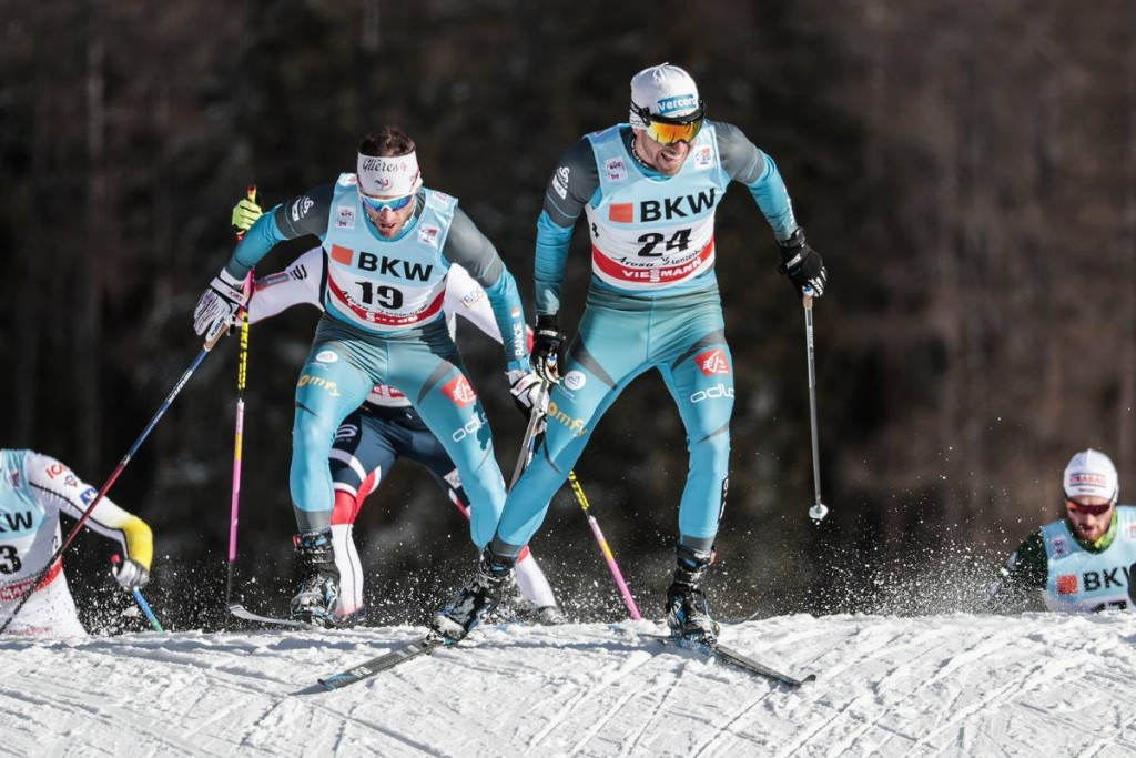 FIS world cup cross-country, tour de ski, pursuit men, Lenzerheide (SUI)