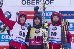 IBU world cup biathlon, sprint men, Oberhof (GER)