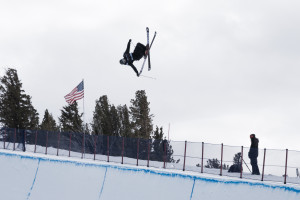 Mammoth Mountain halfpipe World Cup