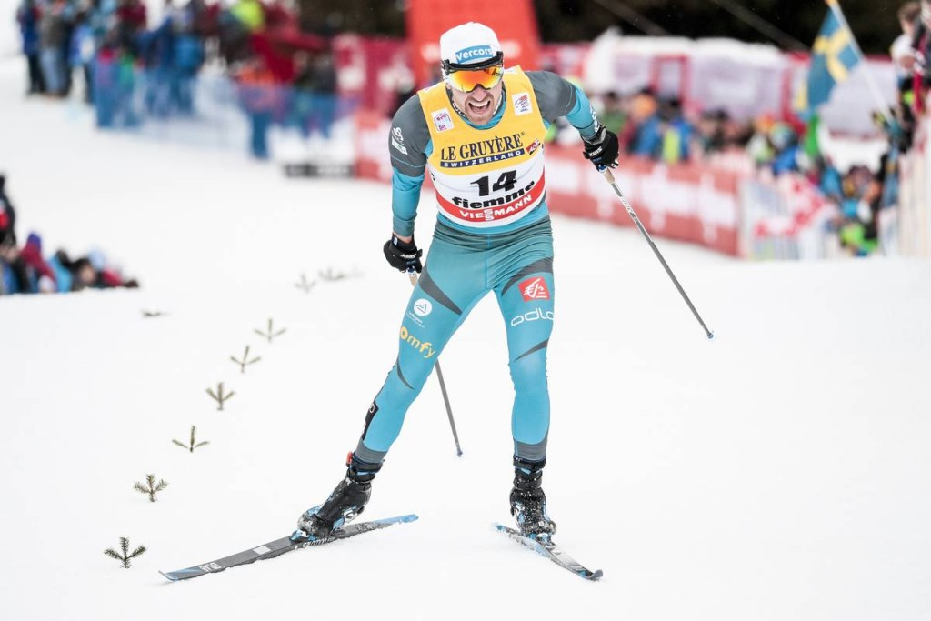 FIS world cup cross-country, tour de ski, final climb men, Val di Fiemme (ITA)
