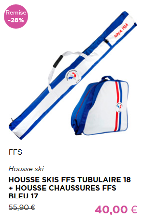 Housse Skis + Housse Chaussures