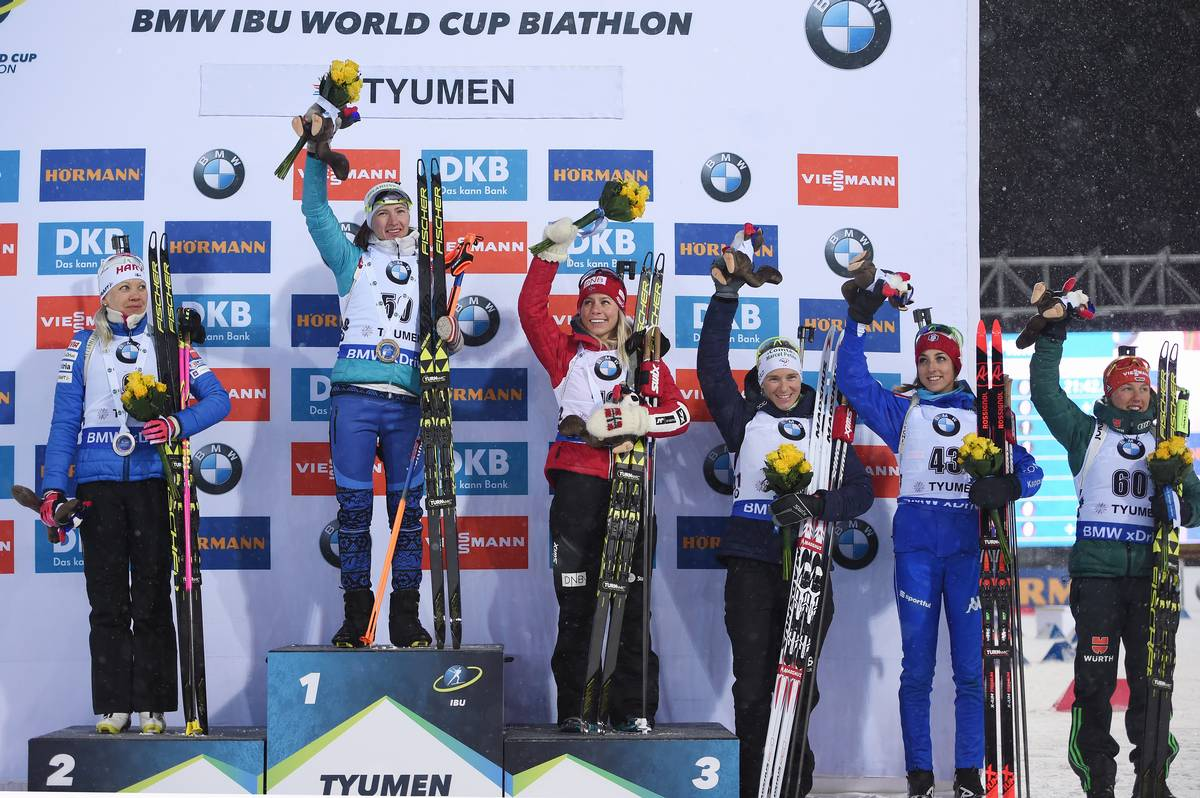 IBU world cup biathlon, cups, Tyumen (RUS)
