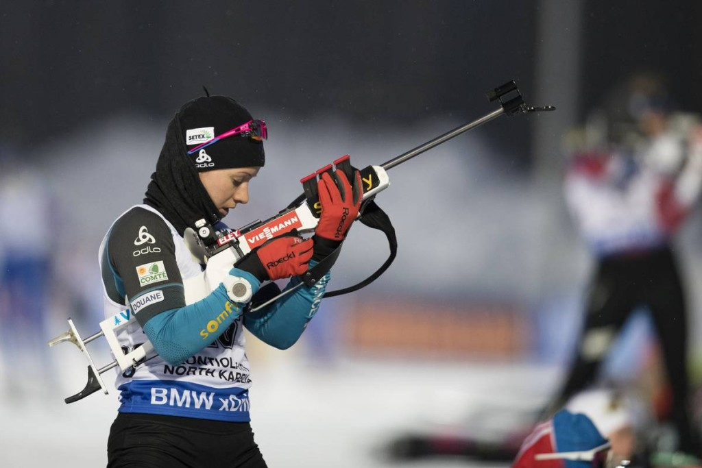 IBU world cup biathlon, sprint women, Kontiolahti (FIN)