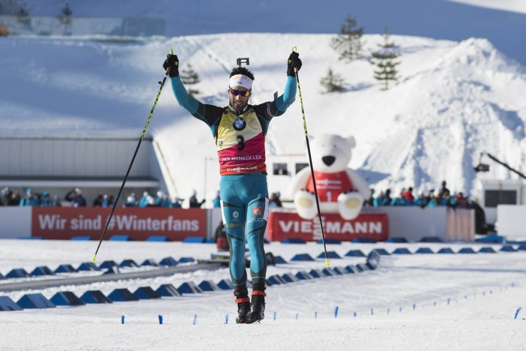 IBU world cup biathlon, pursuit men, Oslo (NOR)